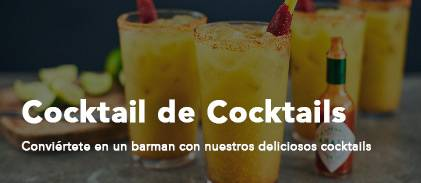 cocktail de coacktails recetas